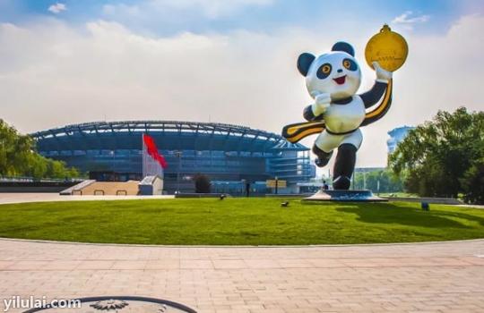 熊猫广场轮播图