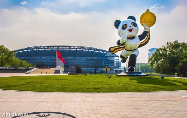 熊猫广场大图/